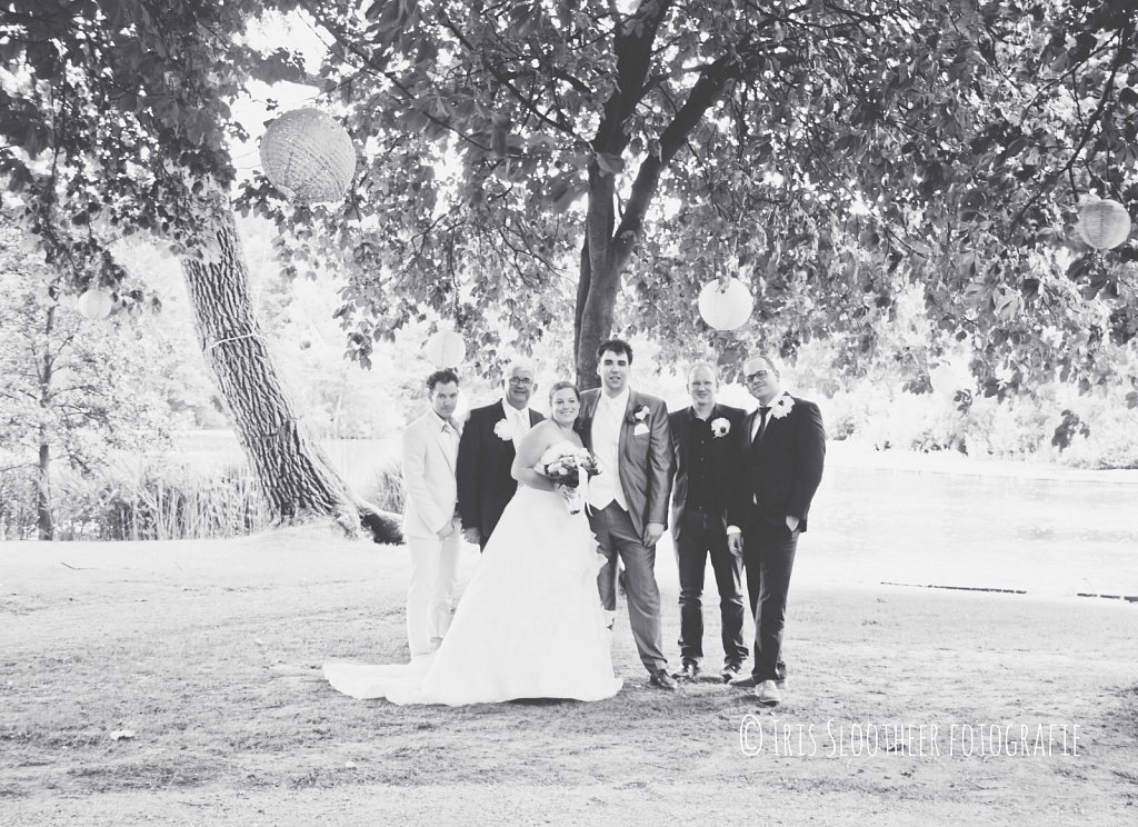 Bruiloft Aris en Linda